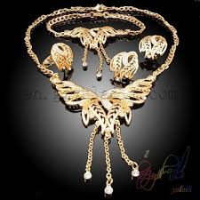 costume jewelry necklace sets images Ew design 2015 fashion necklace jewelry set elegant big gold jpg