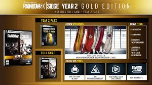 How Much Are Season Passes For Six Flags Rainbow Six Siege Year 2 Roadmap Revealed Includes Operators From