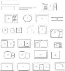 Kitchen Symbols For Floor Plans Floor Plan Cad Blocks Kitchen Cabinet Kitchen