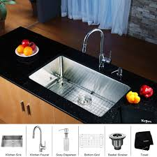Stainless Steel Grid For Kitchen Sink by Stainless Steel Kitchen Sink Combination Kraususa Com