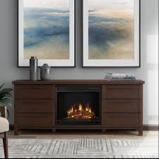 Oak Electric Fireplace Real Flame Parsons Chestnut Oak Electric Fireplace Free Shipping
