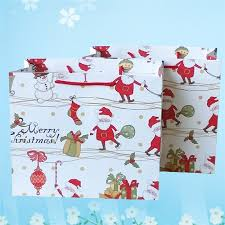christmas wrapping bags threemart christmas craft gift bags decorations assortment