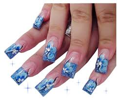 pics photos acrylic flowers nail art archive style nails magazine