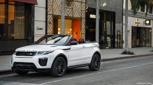 land rover convertible 2017 range rover evoque convertible in beverly hills front hd