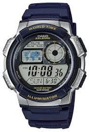 Jam Tangan Casio Karet pria jam tangan digital casio digital jam tangan pria biru