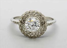 double aquamarine u diamond ring vintage art deco pictures painted