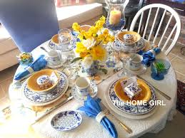 the home ladies prayer breakfast tablescape