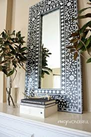 Decorative Mirrors Ideas Cool Contemporary Living Room Room Large Decorative