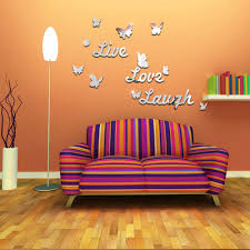 Decorative Mirrors For Living Room by Decorative Mirrors Sticker Promotion Shop For Promotional