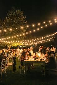 outdoor wedding lighting ideas sacharoff decoration