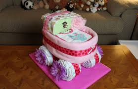 how to make a cake for a girl baby carriage cake how to make