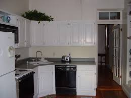 Easy Kitchen Cabinet Makeover Inexpensive Kitchen Makeover Transforming Cabinets With Paint