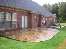 Ideas For Backyard Patios by Stone Patio Designs Pictures Stone Patio Ideas For Natural Look