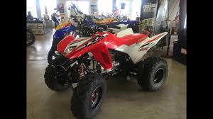 2016 honda trx250x se red white youtube