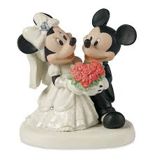 mickey and minnie wedding mickey and minnie mouse wedding figure by disney showcase shopdisney
