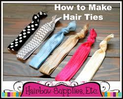 hair bow supplies how to make hair ties hairbow supplies etc