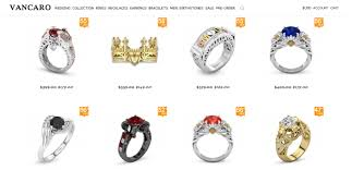 vancaro engagement rings is vancaro a online shop of engagement rings