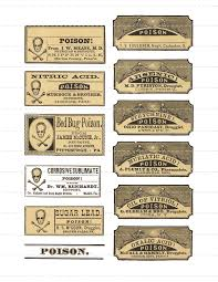 digital download collage sheet vintage 1800 u0027s pharmacy apothecary