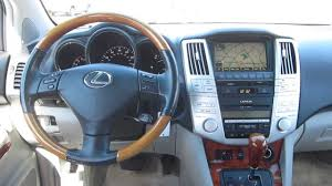 2006 lexus jeep 2006 lexus rx330 silver stock 12608p interior youtube