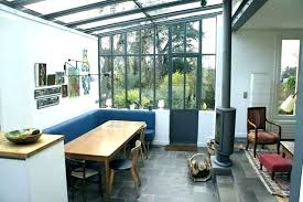 cuisine sous veranda veranda authentic verriere atelier extension cuisine pour