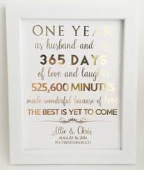 1st wedding anniversary gifts 1st anniversary gift anniversary gift for husband or