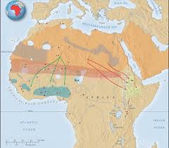 sahel desert map how did the expansion of the desert affect the diffusion of