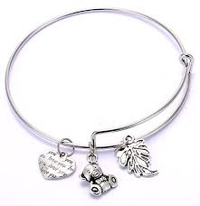 charm bracelet for youbella gold plated charm bracelet for clickonway