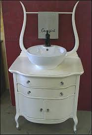 Vintage Sink Faucet Vanities Details About Chunky Rustic Painted Bathroom Sink