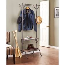 wildon home hillwood entryway tree with shelf reviews