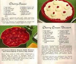 recipecurio comnew recipes for red cherries u2013 vintage recipe