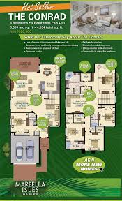 house designs floor plans usa marbella isles new homes floorplan floor plans pinterest