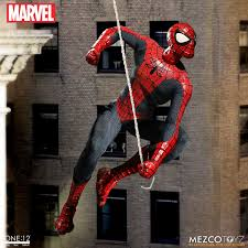 spider man one 12 collective marvel spider man u2013 mezco toyz