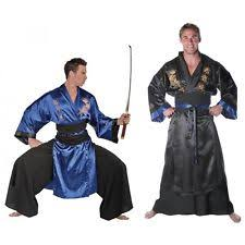 Samurai Halloween Costume Mens Samurai Costume Ebay