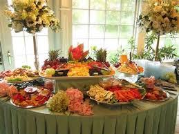 food tables at wedding reception wedding food displays wedding ideas pinterest food displays