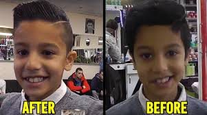 junior boy hairstyles best modern boys hairstyle before and after youtube