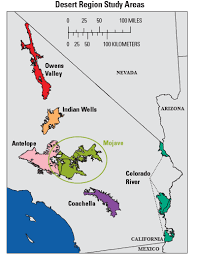 california map desert region usgs fact sheet 2012 3036 groundwater quality in the mojave area