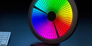 Color Spectrum Get Lost In Time With This Mesmerizing Led Color Spectrum Clock