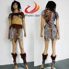 Cave Woman Halloween Costumes Shop Free Shipping 1pcs Cheap Party Dress Costume