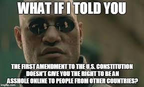 Free Memes Online - freedom of speech imgflip