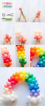 How To Make Birthday Decorations At Home 25 Best Rainbow Party Decorations Ideas On Pinterest Rainbow