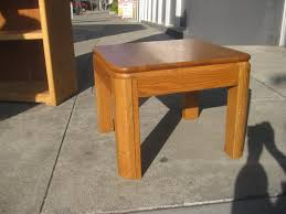 Oak End Tables Uhuru Furniture Collectibles Sold Pair Of Oak End Tables