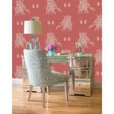 nuwallpaper red caravan peel and stick wallpaper nu2078 the home