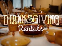 thanksgiving event rentals that will save the day to go