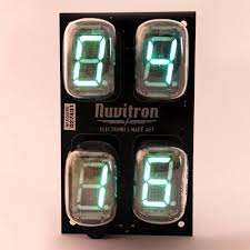 Coolest Clocks by Vacuum Fluorescent Display Inert Gases Have Never Looked This Cool