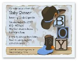 western baby shower invitations reduxsquad