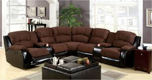 recliner loveseat with cup holders leather recliner cup holder