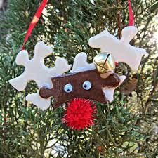 reindeer puzzle piece ornament morena u0027s corner