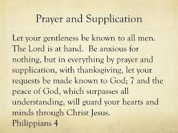 pray why types of prayer intercession supplication