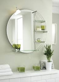 bathroom round silver mirror pictures decorations inspiration with