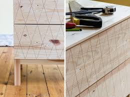 Tarva Daybed Hack Ikea Hack Tarva Commode Decoupe Geometrique Diy Auguste Et